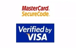 Visa, Mastercard - Secured