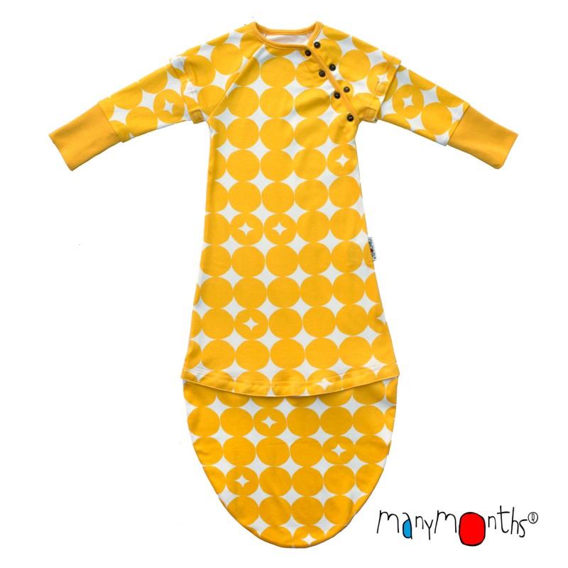 ieftin la reducere pret ieftin design de top Sac de dormit extensibil din bumbac organic ManyMonths | Sac de dormit,  pătură pentru bebeluși - Wrapmama's shop
