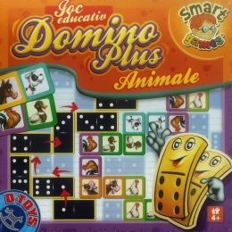 Joc Educativ - Domino Plus - Animale