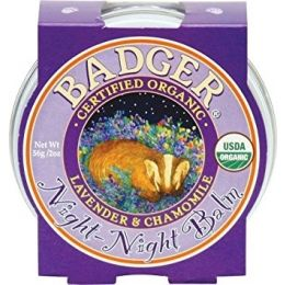 Mini balsam pt un somn linistit, Night-Night Baby Badger, pt copii, 21 g