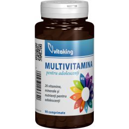 Vitaking multivitamin tiniknek, 90 db.