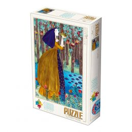 Puzzle Kürti Andrea - The Frog Princess - 1000 Piese