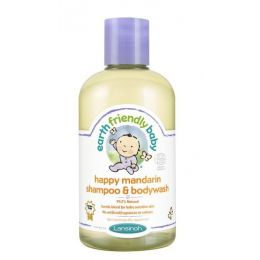 Șampon și gel de duș mandarine Earth Friendly  Baby