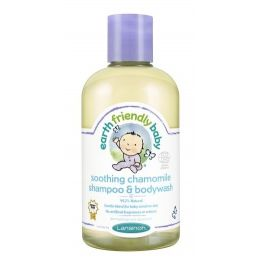Șampon și gel de duș mușețel Earth Friendly Baby
