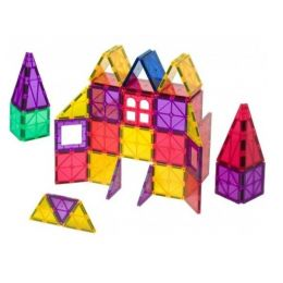Set Playmags 60 piese magnetice de construcție + 6 accesorii